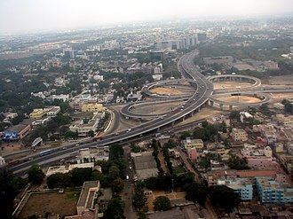 Kathipara Junction - Image: Kathipara Chennai