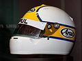 Kazuyoshi Hoshino helmet Suzuka RacingTheater.jpg
