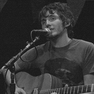 Person L - Kenny Vasoli playing at the Bowery Ballroom in New York City.
