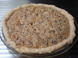 Walnut pie - Image: Kentucky Chocolate walnut pie