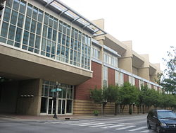 Kentucky International Convention Center at the Tyler Hotel site.jpg
