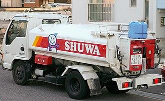 Kerosene - A truck delivering kerosene in Japan