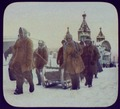 Khabarovsk (?) - convicts marching under guard; church in background LCCN2004708067.tif
