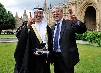 Khalid Abdul Rahim - Khalid Rahim with Lord Gus McDonald