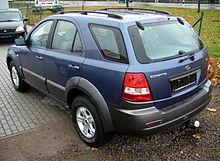 Pre Facelift Kia Sorento 2.5 CRDi (Europe)