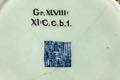 Kinesisk signatur från 1700-talet och museets föremålsnummer över - Hallwylska museet - 96149.tif