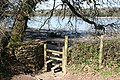 Kingswear, stile to foreshore footpath - geograph.org.uk - 731184.jpg