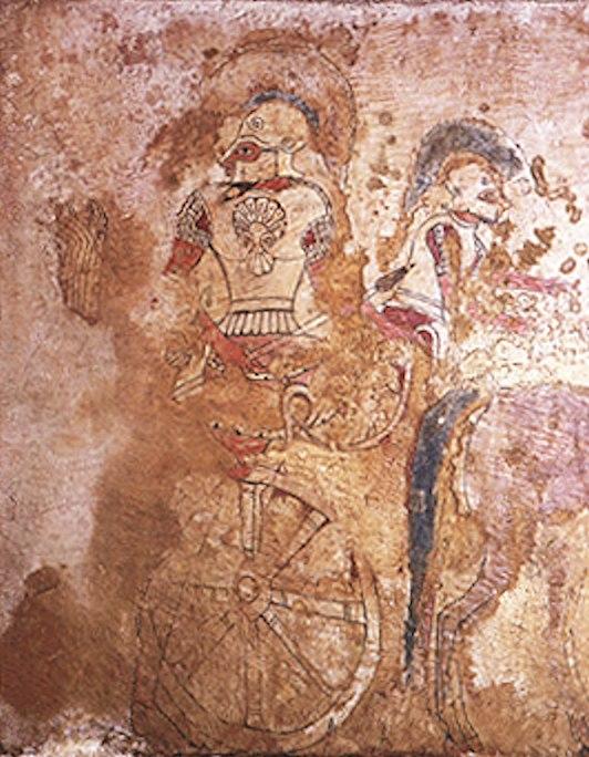 Kizilbel Elmali tomb charioteer