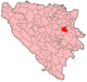Kladanj Municipality Location.png