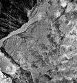 Knik Glacier, terminus of valley glacier and outwash plain, September 27, 1995 (GLACIERS 5031).jpg