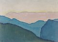 Kolo Moser - Bergketten - 1913.jpeg