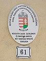 Kossuth Lajos Elementary School, house number, 2019 Mezőtúr.jpg