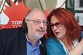 Kostas Isihos with Evgenia Loupaki May 2015.jpg