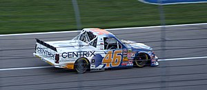 Randy Moss Motorsports - Kraig Kinser's No. 46 truck qualifying at Texas in 2006