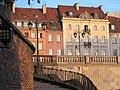 Krakowskie Przedmieście ze schodków przy kościele Św. Anny - panoramio.jpg