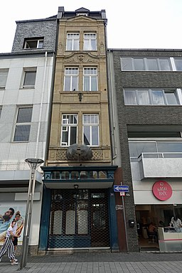 Hochstraße in Krefeld