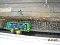 Kreuzfahrtterminal Bremerhaven, Müllentsorgung der MS Albatros am Kai.jpg