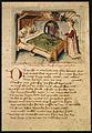 Kriemhilds Traum vom Falken Am Fussende des Bettes steht Kriemhilds Mutter Ute Hundeshagenscher Kodex.jpeg