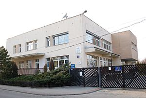 German minority in Poland - Willy-Brandt-Schule in Warsaw