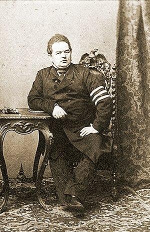 Leopold Stanisław Kronenberg - Photo of Leopold Kronenberg by Karol Beyer