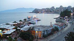 Saranda, Albanie