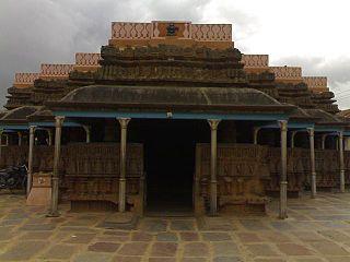 Kundgol city in Karnataka, India