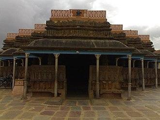 Kundgol - Shambhulinga temple at Kundgol