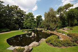 Holland Park - Image: Kyoto gardens Holland park