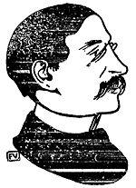 דיוקן לאון בלום, 1900. צייר: Félix Valloton