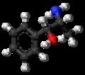 L-Norpseudoephedrine molecule ball.png
