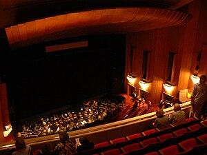 Los Angeles Opera - Inside the Chandler Pavilion Auditorium in 2008.