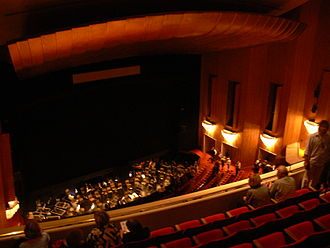 Los Angeles Opera - Inside the Chandler Pavilion Auditorium in 2008.