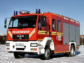 Fire fighting vehicle 16/12