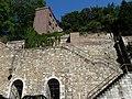 LIEGE les Coteaux de la Citadelle - derrière Musée de la Vie Wallonne (4-2013).JPG
