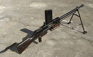 FM 24/29 light machine gun - LMG 24/29