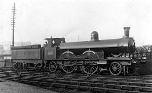 2-2-2-2 - LNWR John Hick Class, engine   No. 1535 Henry Maudslay