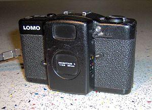 A 1988 LOMO LC-A camera