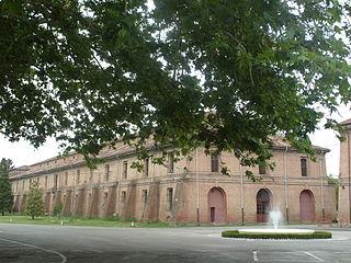 Cittadella of Alessandria building in Alessandria, Italy