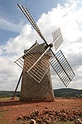 La Couvertoirade wind mill 01.jpg