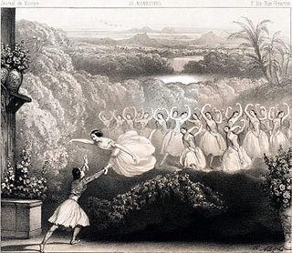 <i>La Péri</i> (Burgmüller) 1843 ballet by Burgmüller