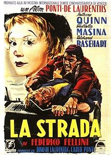 <i>La Strada</i> 1954 Italian drama film directed by Federico Fellini