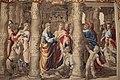 La guarigione dello storpio di manifattura di Mortlake su cartoni di Raffaello, 1630 circa.JPG