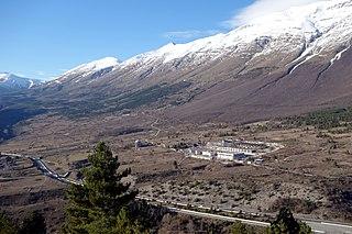 Laboratori Nazionali del Gran Sasso Physics laboratory in Assergi, Italy