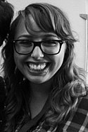 Laci Green and Lindsey Doe (cropped to Laci Green).jpg
