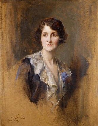 Mary Elphinstone, Lady Elphinstone - Portrait by Philip de László, 1929