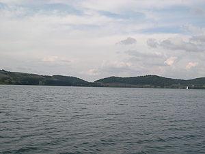 Lake Martignano - Image: Lago di Martignano