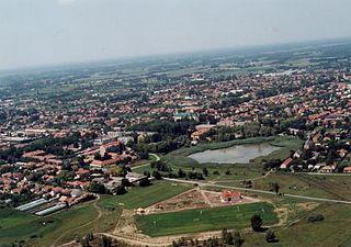 Lajosmizse Town in Bács-Kiskun, Hungary
