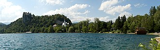 Upper Carniola - Image: Lake Bled panorama 01