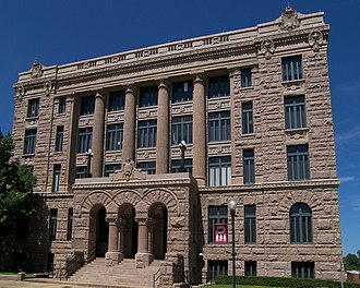 Lamar County, Texas - Image: Lamar courthouse tx 2010
