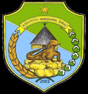 West Manggarai Regency - Image: Lambang Kabupaten Manggarai Barat